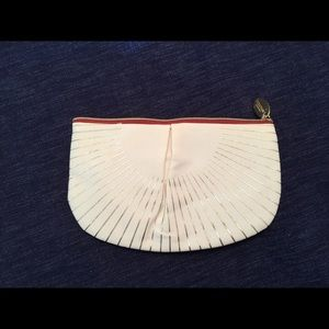NEW! L'Occitane Zipper Cotton Cosmetics Pouch